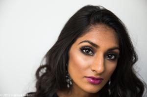Kiren Modi Shreya makeup-2
